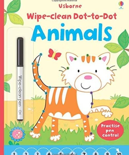 Wipe-clean dot-to-dot animals 點到點:一起來畫可愛動物