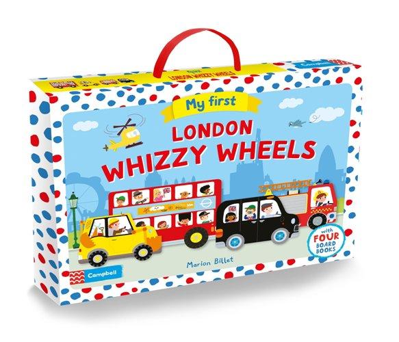 My First London Whizzy Wheels 車車形狀書禮盒(含四本車車形狀書)