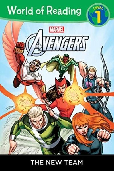 World of Reading: Avengers The New Team: Level 1