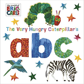 The Very Hungry Caterpillar's abc 毛毛蟲學ABC