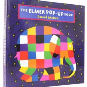 The Elmer Pop-Up Book 大象艾瑪立體書