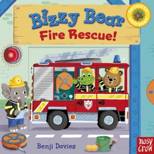Bizzy Bear: Fire Rescue! 小熊打火英雄(厚頁書)