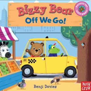 Bizzy Bear: Off We Go! 小熊的旅行(厚頁書)