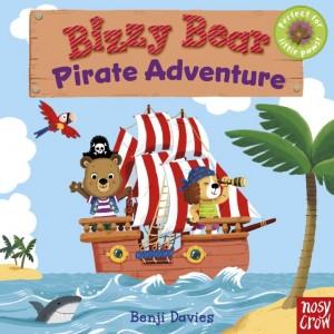 Bizzy Bear: Pirate Adventure 小熊海盜冒險(厚頁書)