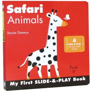 Safari Animals 森林動物推推書(厚頁書)