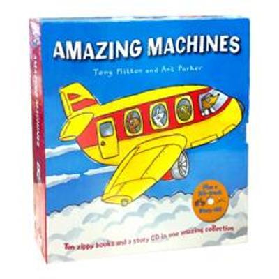 Amazing Machines 神奇的機器套書(盒裝10書+1CD)