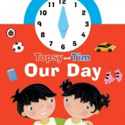 Topsy and Tim: Our Day clock 時鐘轉轉書