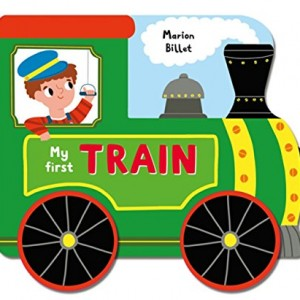 Whizzy Wheels My First Train  我的第一本火車書(厚頁遊戲書)