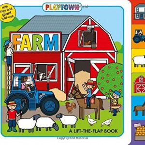 Playtown: Farm  農場的奧秘翻翻書(厚頁書)