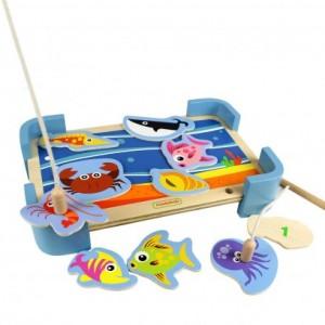 Fishing Game 釣魚遊戲(木製玩具)