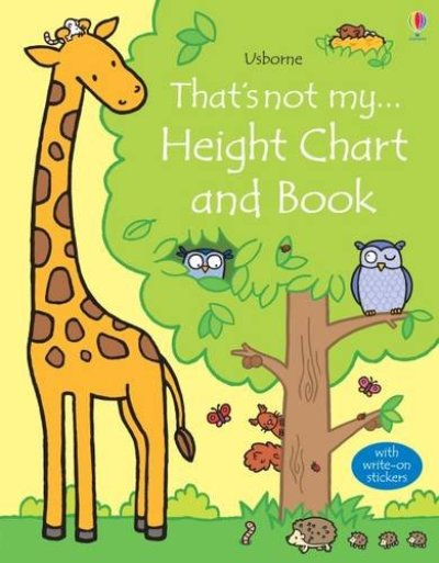 That's Not My Height Chart and Book 這不是我的身高尺(精裝繪本)