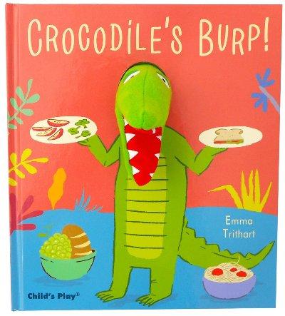 Crocodile's Burp (Pardon Me!) 打嗝的鱷魚(精裝手偶書)