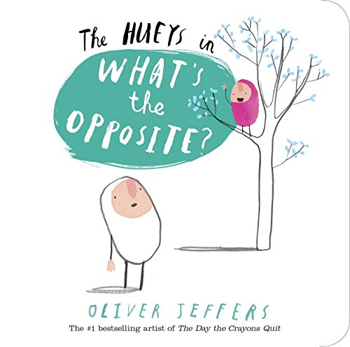 The Hueys: What's the Opposite?拇指人概念書系列:對比