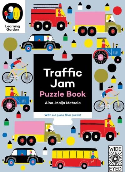 Traffic Jam: Puzzle Book 交通拼圖遊戲書 (6組72片)