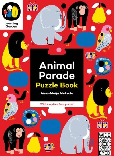 Animal Parade: Puzzle Book 動物天堂遊戲書 (6組72片)