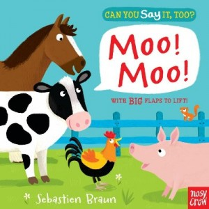 Can You Say It Too? Moo Moo 動物大聲說: 農場動物篇
