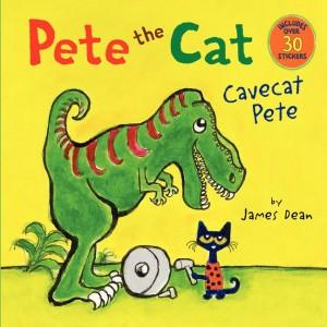 Pete the Cat: Cavecat Pete 皮皮貓冒險 (附30張貼紙)